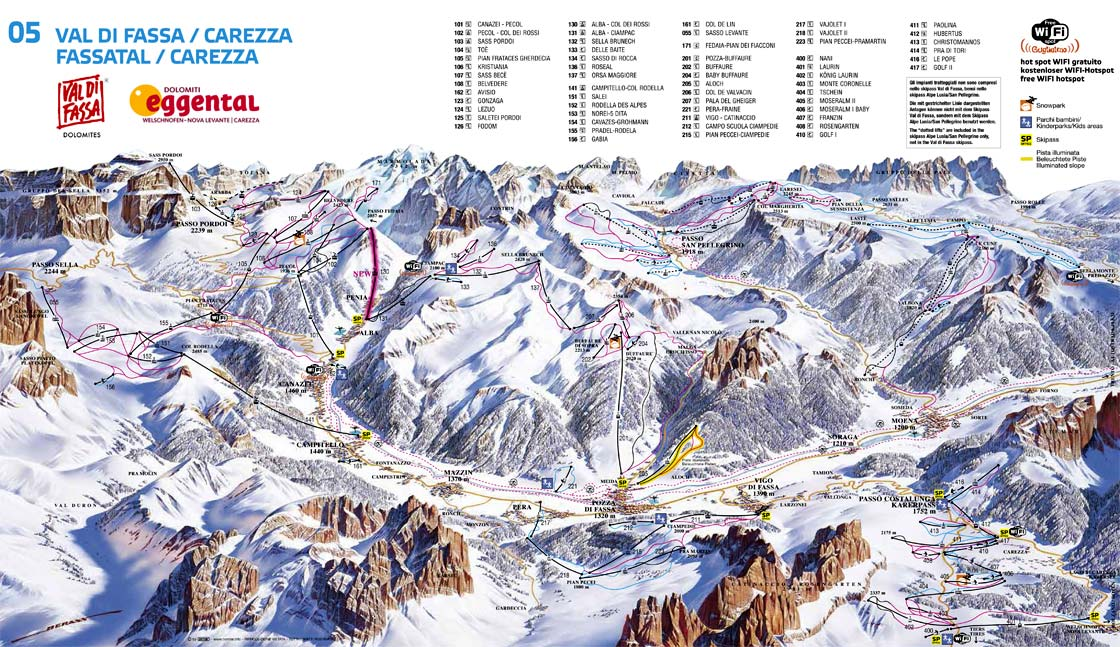 Val di Fassa - Carezza (270K)