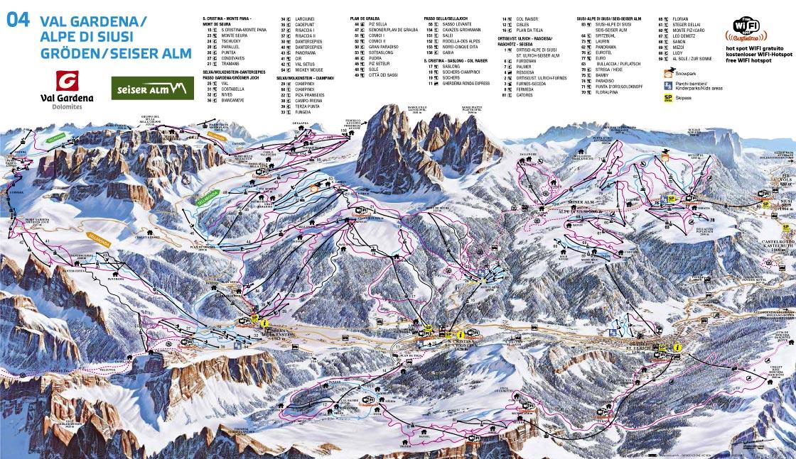 Val Gardena - Alpe di Siusi (270K)